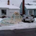 jabba the hut snowman