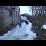 Melting Snowman Time-lapse